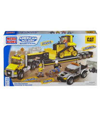 Mega Bloks CAT Heavy-Duty Transporter - Buy Mega Bloks CAT Heavy ... Buy Mega Bloks Cat Large Vehicle Dump Truck In Cheap Price On 3 In 1 Ride On Man Christmas 27pc Cat Toy Set Stage Stores 12 Bsp Amazoncom Caterpillar Constructor Toys Games Lil Cnd88 From 2349 Nextag Mb Truck Platform Bx9 Factcool Bloks Push Along And Sitride Toy Articulated Trade Me