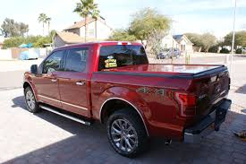2016 Ford F-150 Tonneau Cover From Peragon | Ford F-150 Truck Bed ...