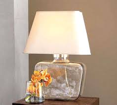 Fillable Table Lamp Clear Glass by Clear Glass Table Lamps For Bedroom With Night Stand Best Silver