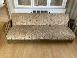 sofa vintage sofa 50er jahre sitzmöbel 3 sitzer landhaus sofa