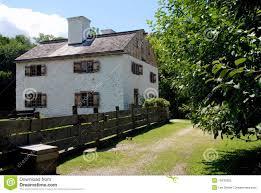 100 Sleepy Hollow House NY 1750 Philipse Manor Stock Image