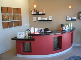 Salon Decorating Ideas Budget by Office Table Home Office Small Reception Desk Ideas Cgarchitect
