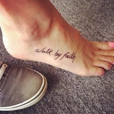 Best Foot Tattoo Designs