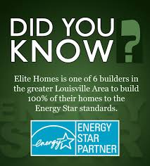 We Are Proud To Offer 100 Of Our New Homes With The ENERGY STARR Label STAR Qualified Substantially More Energy Efficient Than