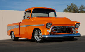 Chevrolet Pressroom - United States - Images 1957 Chevrolet Cameo For Sale 75603 Mcg 1955 Chevy A Appearance Hot Rod Network 1956 Pickup Amazing Frameoff American Dream 195558 The Worlds First Sport Truck 1958 Stock Photo 20937775 Alamy Gateway Classic Cars 1656lou Forgotten Truckin Magazine Sale Classiccarscom Cc794320 Tubd Snub Nose Custom 43116