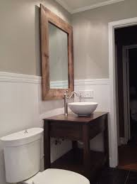 Modern Reclaimed Wood Bathroom Vanity Mirror Inside Boat Also Build The 23