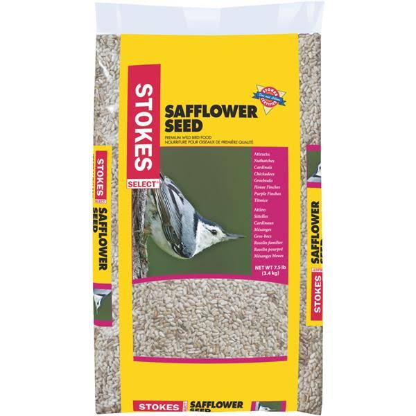 Stokes Select Safflower Wild Bird Seed - 7.5lbs