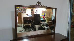 Drexel Heritage Dresser Mirror by Drexel Serpentine Dresser Mahogany Mirror Ebay