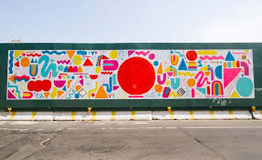 Big Ang Mural Brooklyn by Wall Space Brooklyn Artists Think Big With Mike Perry Led Mural