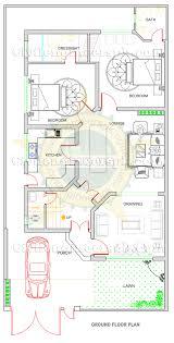 100 Rectangle House New 10 Marla Design Civil Engineers PK