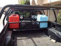 100 Truck Bed Storage Box 13 Tailgate Rack Aluminum Rear Bike Rack NEW Clevr 3 Bike