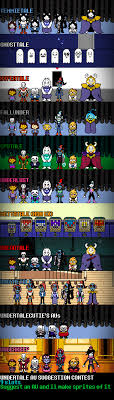Second Part Of That Undertale AU List From A While Ago