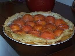 cuisine feuille de brick tarte aux abricots en feuilles de brick recette iterroir