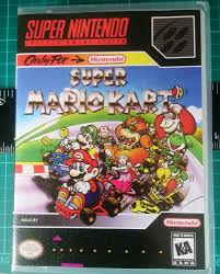100 Spikes Game Zone Truck Mania Nintendo Snes Replacement Case And Cover Super Mario Kart All