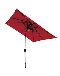 Solar Lighted Rectangular Patio Umbrella by 0 870x1110 Jpg