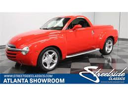 100 Ssr Truck For Sale 2004 Chevrolet SSR For ClassicCarscom CC1194260