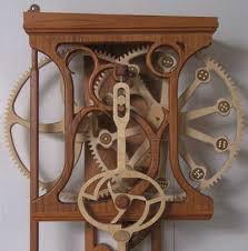 plans woodworking 7 free wooden gear clock plans
