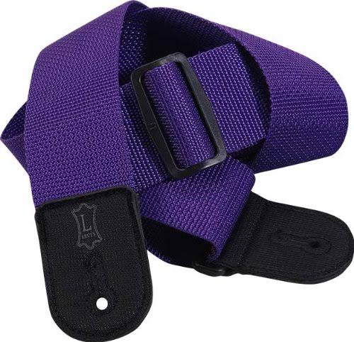 Levy's Bass Guitar Shoulder Strap - Purple