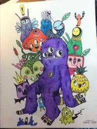 From Doodlers Anonymous Coloring Book