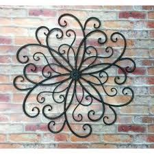 Best Decorative Outdoor Metal Wall Art Metalic Hanging Bohemian