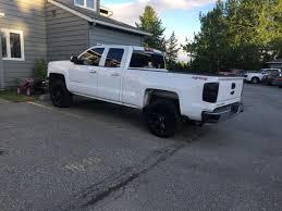 100 Chevy Truck Wheels And Tires Fuel Silverado Beast Black Machined W Dark Tint 6Lug Wheel