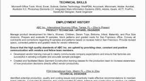 It Technician Resume Examples Tech 2016 At Sample Ideas