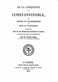 si e de constantinople de la conquête de constantinople