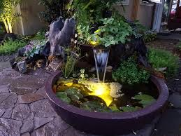 Aquascape Patio Pond 40 by Bubbling Landscape U0026 Garden Fountain Kits Warwick Ny Nj Pa Ct Mass