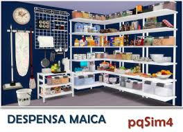 Maica Pantry By Mary Jimenez At Via Sims 4 Updates