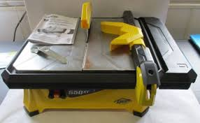 Qep Tile Saw Manual by Qep 3 4 Hp Wet Tile Saw With 7 In Diamond Blade 22650q Ebay