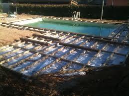 margelle piscine en bois plage en bois sans margelles marseille martigues aix en provence
