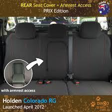 REAR Seat Cover + Armrest Access (HC12Rz-P) - Dingo Trails