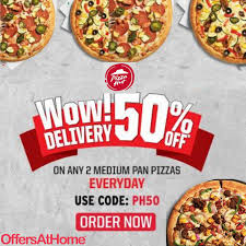Pin By OffersAtHome On Foods In 2019   Pizza, Pizza Hut ... Pizza Hut On Twitter Get 50 Off Menupriced Pizzas I Love Freebies Malaysia Promotions Everyday Off At March Madness 2019 Deals Dominos Coupons How To Percent Pies When You Order Hit Promo Best Promo Code For The Sak Hut Large Pizza Coupons All Through Saturday Web Deals Half Price Books Marketplace Coupon Things To Do In Ronto Winter Papajohns Discount Is Buffalo Wild Wings Open