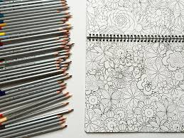 The Best Adult Coloring Book Colored Pencil Spiral Bound And Available On Amazon