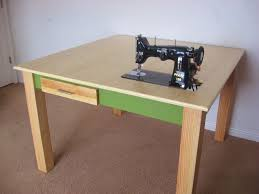 Sewing Cabinet Plans Build by Make A Custom Sewing Table 9 Steps With Pictures