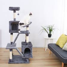 100 Tree House Studio Wood US 799 20 OFFH176cm Pet Cat Condo Toy Scratching Post For Cats Climbing Cat Towers Furniture Fast Domestic Delivery On