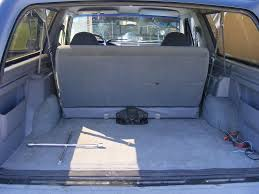 Difference between 1991 rear seat & 1992 rear seat Ford Bronco