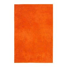 ikea toftbo bath mat orange paint design – Direct Divide