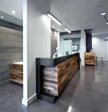 Office Reception Area Ideas Modern Counter