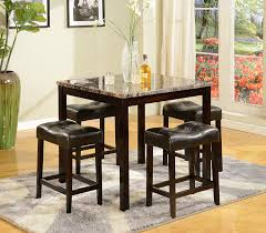 5 Piece Dining Room Set With Bench by Amazon Com Crown Mark Kinsey 5 Piece Counter Height Table Stool