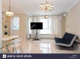 moderne küche mit wohnzimmer verbunden interior design mit