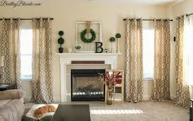Taupe Living Room Decorating Ideas by Bentleyblonde Spring Mantle Decorations U0026 Kirklands Gatehill Curtains