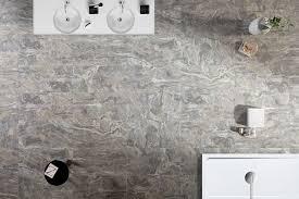 Eurowest Grey Calm Tile by Zen Stone Collection Colorker Bath Tiles Porcelain