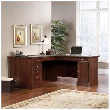 Altra Chadwick Collection L Desk Virginia Cherry by 100 Realspace Magellan Collection L Shaped Desk Cherry