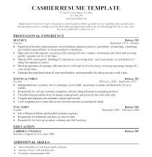 A Good Resume For Cashier As Well Professional Head Sample