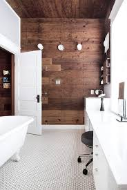 plank wall house decorating bathroom designs