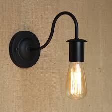simple modern industrial vintage black iron wall l loft style