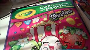 SHOPKINS GIANT COLORING PAGES