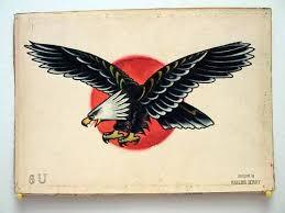 Sailor Jerry Eagle Tattoo Design Photo