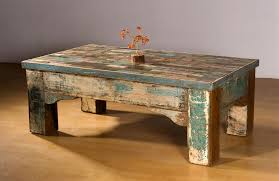 reclaimed wood coffee table lets have a vintage era